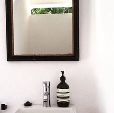 AESOP we love the smell design B & B Lagos Portugal Aesop, B & B, Portugal, Vanity, Mirror, Bathroom, Frame, Design, Home Decor