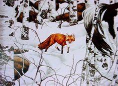 """Image detail for -Bev Doolittle Art Book & 4 Big Prints """"Two Indian Horses & Woodland ..."""