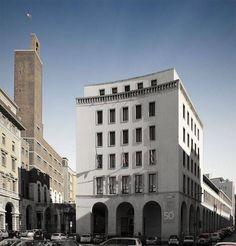 Casa del lavoro, Trieste, Umberto Nordio and Raffaello Battigelli, 1932-1948 Photo via scopritrieste