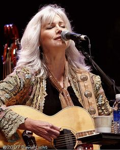 Emmy Lou Harris - thank you for being a groovy vegetarian