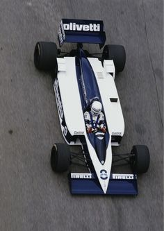 Riccardo Patrese Brabham - BMW 1986