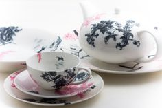 Elinno Design. Tea set in Finnish plus Chinese Style.