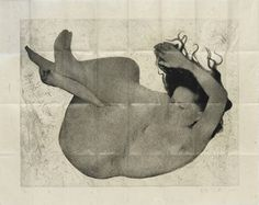 """Kiki Smith self-portrait. 1994. From """"100 Self-Portrait Drawings from 1484 to Today"""""""