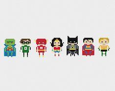 Avengers Assemble Cross Stitch Pattern PDF by pixelsinstitches