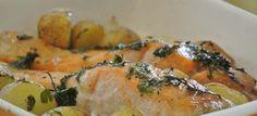Pommes de terre fondante et saumon - Recettes Cookeo