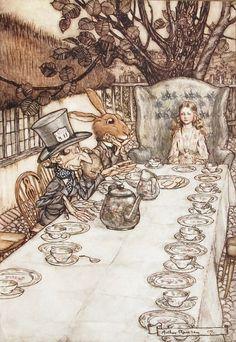 """A Mad Tea Party"" Alice's Adventures in Wonderland (1907)"