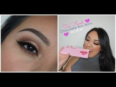 Hi Beauty Babes! I'm so sorry that this video is so late in the week, but a late video is better than no video right? Chocolate Bar Palette, Chocolate Bars, Too Faced Eyeshadow, Makeup Supplies, Eye Tutorial, Urban Decay, Pallets, Swatch, Hair Makeup