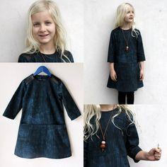 Blue Louisa Dress