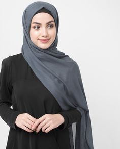 Made from Viscose Woven in Coronet Blue, has an adorable feel and delicate shine can be color coordinated with any Islamic and modest fashion clothing.