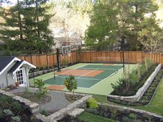 Sport Court Backyard Court – Fitness And Exercises