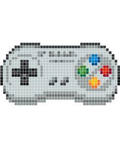 pixel art manette