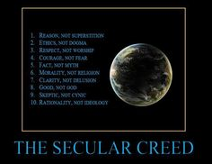 The Secular Creed