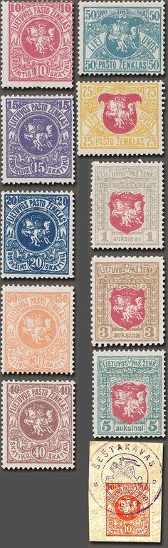 1919 m. • Trečioji Berlyno laida / H. S. Hermano spaustuvė (Berlynas) / Spaudos būdas: litografija