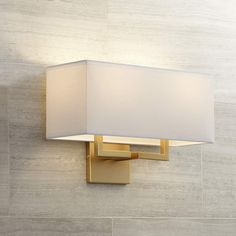 George Kovacs Rectangle High Gold Wall Sconce is a quality Bathroom Lighting for your home decor ideas. Bathroom Sconces, Modern Wall Sconces, Bathroom Light Fixtures, Bathrooms, Bedside Lighting, Bedroom Lighting, Sconce Lighting, Office Lighting, Bedroom Lamps