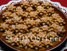 Kokosové hvězdičky dia Sweet Recipes, Cereal, Breakfast, Morning Coffee, Breakfast Cereal, Corn Flakes