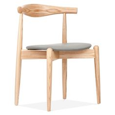 Danish Designs Natural Elbow Chair with Round Seat