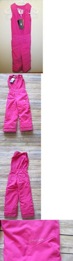 Outerwear 147202: New $110 Spyder Pink Girls Ski Snow Bitsy Sweetart Snow Bibs Pants -> BUY IT NOW ONLY: $69.99 on eBay!