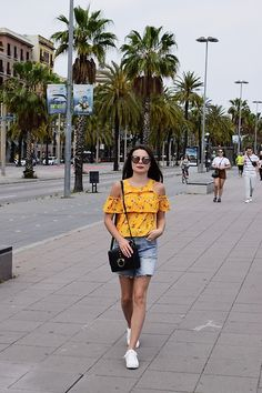 Get this look: http://lb.nu/look/9036346  More looks by Edyta Kabata: http://lb.nu/edytakabata  #casual #street #vintage #girl #ootd #barcelona #outfit #lovely #yellow
