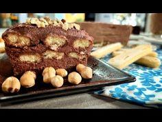 Ανάλαφρο, δροσερό, σοκολατένιο. Αυτό το τιραμισού φτιάχνεται με πραλίνα φουντουκιού και δίχως αυγά. Πανεύκολο και υπέροχο. Tiramisu, Deserts, Muffin, Cooking, Breakfast, Ethnic Recipes, Food, Lifestyle, Essen