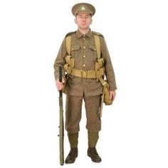 BE1161 WW1 British 1914 BEF Uniform
