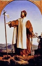 St. Boniface (Der heilige Bonifatius) (Wikipedia User: Jdsteakley)