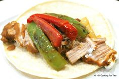 """Packed full of tasty goodness. A simple """"skinny"""" version of Pork Carnitas that is low fat."""