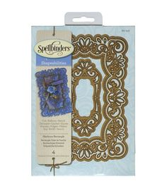 Spellbinders Shapeabilities Heirloom Rectangle Dies