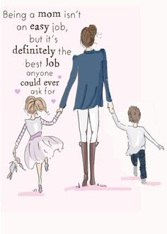 Being a Mom - The Heather Stillufsen Collection from Rose Hill Designs Cute Mothers Day Quotes, Mommy Quotes, Daughter Quotes, Mothers Love, Happy Mothers Day, To My Daughter, Daughters, Being A Mother Quotes, Mother Qoutes