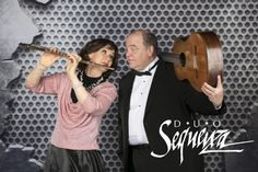 Duo Sequenza, Debra Silvert, Paul Bowman, Flute, Guitar, Duo Sequenza Logo, Classical Music, Chamber Music
