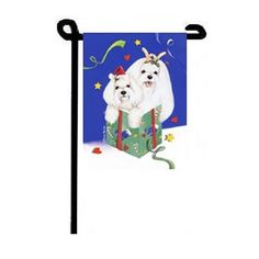 Maltese Sweet Surprises Garden Flag Maltese Dogs, Garden Flags, Cute Animals, Snoopy, Sweet, Fictional Characters, Art, Pretty Animals, Craft Art