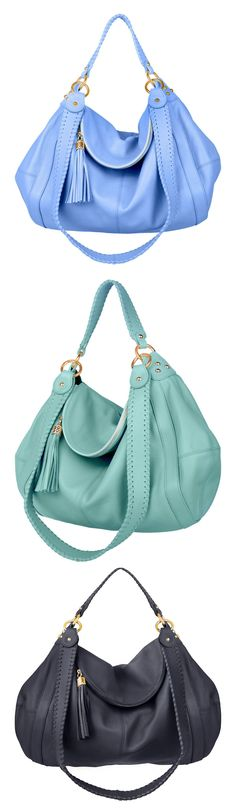 Cute, Colorful Leather Hobo Bags