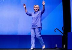 "LMAO!  HILLARY THE FASHION ICON?!  The Washington Post's fashion critic is calling Hillary Clinton a ""style icon"" who's influencing top designers' runway shows. Robin Givhan says designers are being inspired by the Democratic presidential nominee.  For what, prison uniforms?!"
