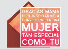 Tarjeta día de la madre, frases día de la madre, ideas día de la madre, felicitación día de la madre, día de la madre    Para Más Info Visita: www.LaBelleCarte.com    Mother's Day cards, Mother´s day, Mother's Day phrases, Mother´s day ideas, Mother´s day    For More Info Visit: www.LaBelleCarte.com/en
