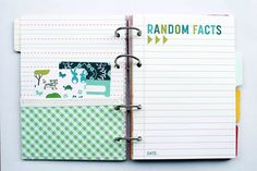 Jill Sprott shows how she created page pockets for her Woodland Park Here & Now mini-album