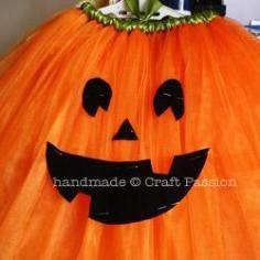 DIY Tutorial DIY Halloween / DIY  Tutu Pumpkin For Toddler - Bead&Cord