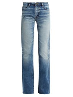 f12b1b0e7 Click here to buy Saint Laurent Mid-rise flared jeans at MATCHESFASHION.COM  Slim