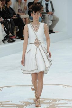 Chanel Fall 2014 Couture - Collection - Gallery - Look 1 - Style.com