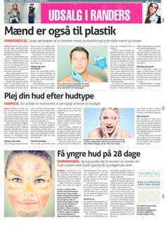 25. December 2013 - Randers Onsdag bringer Danish Skin Cares guide til at pleje huden efter hudtype