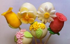 Bouquet of cake pops