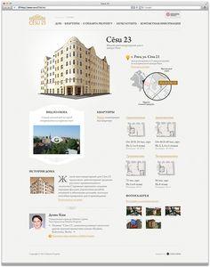 Cesu23 / Website concept on Behance