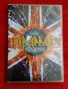 Def Leppard - Rock of Ages: The DVD Collection (DVD, 2005) with BOOKLET
