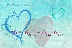 Chemical Thermodynamic Equation For Love by Paulette B Wright   For all you geeks out there in Love!