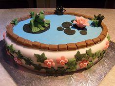 creativecake designs | Frog Cake - Creative Cake Designs