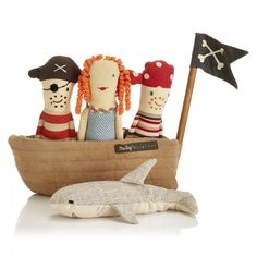 Pirate Ship Rattle Set
