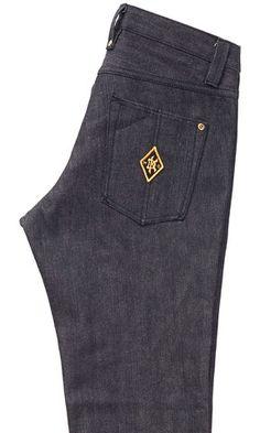 BLACK SLIM GUYAsphalt-Resistant Jeans