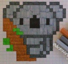 Fuse Bead Patterns, Beading Patterns, Cross Stitch Patterns, Graph Paper Drawings, Graph Paper Art, Pixel Art, Small Drawings, Square Art, Mandala Art