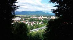 Pohled na Mesto My Photos, River, Mountains, City, Amazing, Nature, Outdoor, Outdoors, Naturaleza