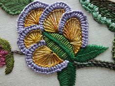 ella's craft creations: AUTUMN FLOURISH EMBROIDERY ......FINALE !!!