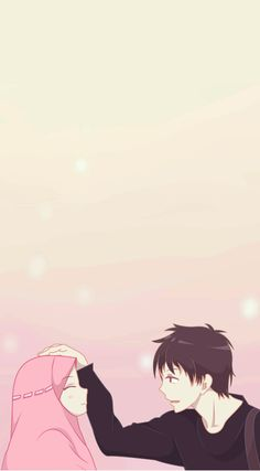 kumpulan anime kartun romantis anyar - my ely Cute Muslim Couples, Cute Couples, Cartoon Images, Cartoon Art, Hijab Drawing, Islamic Cartoon, Hijab Cartoon, Cute Couple Art, Couple Cartoon