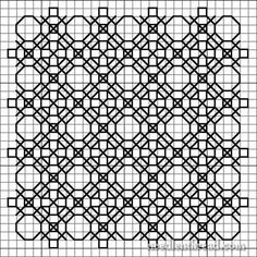 free blackwork pattern | Blackwork Design Development: Further Variations
